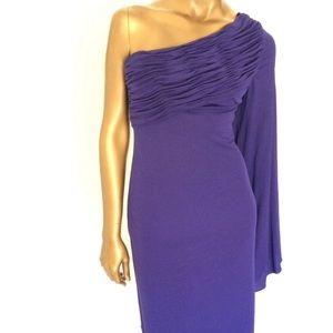 Robert Rodriguez Purple Dress